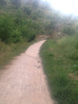Rapid River trail in Rapid City, SD