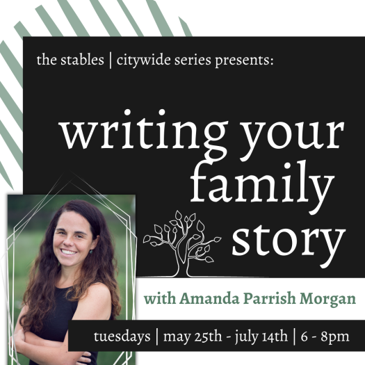 Writing Your Family Story_APM_Sq